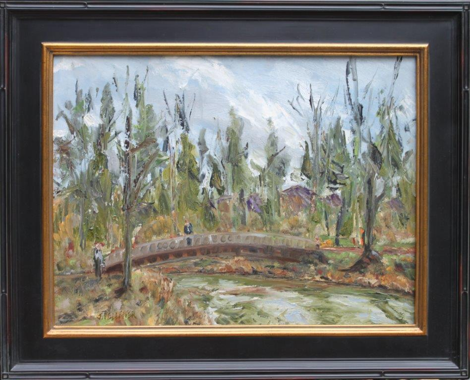 Alton Baker Bridge Oil on Canvas 18 x 24 $450.00