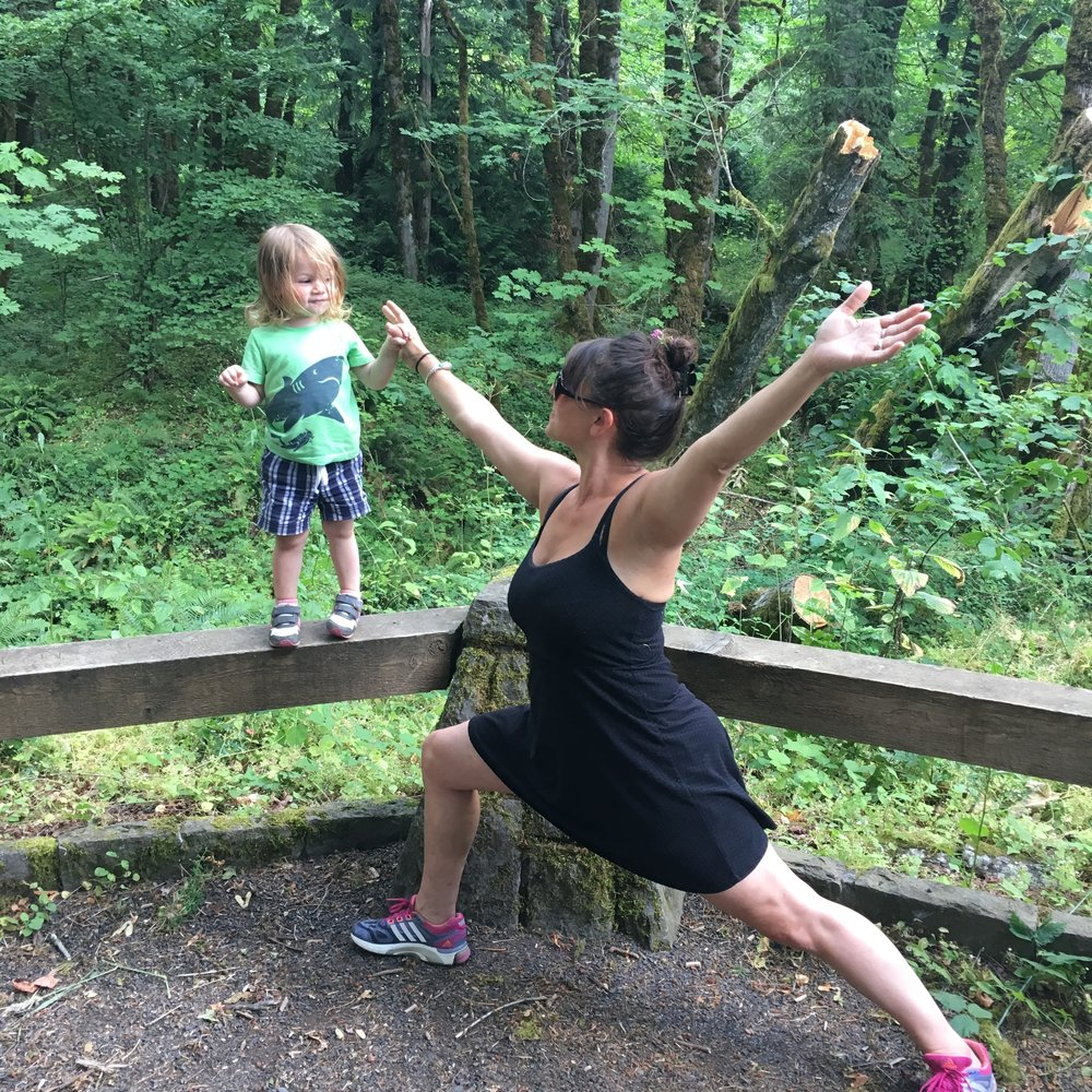 Daniele Strawmyre, ready set grow, multitasking mama, yoga, postnatal yoga, restore your core, postpartum transitions