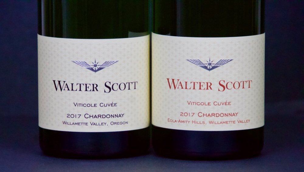 March 2019 - Walter Scott Chardonnay Willamette Valley and Eola Amity Hills (Viticole Cuvee)