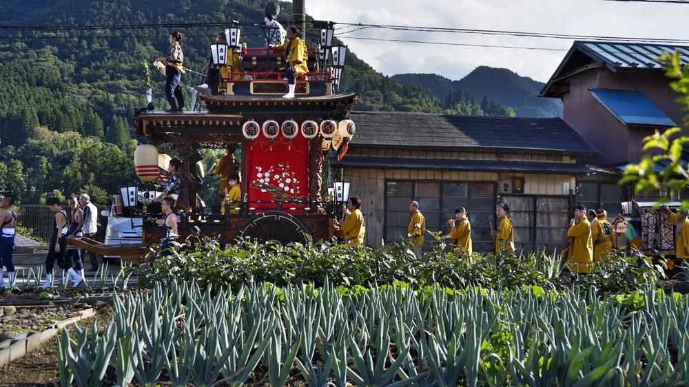 下仁田町ネギとお祭り