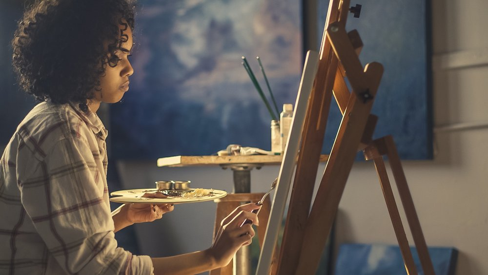 Online art market sales  reached  an estimated $4.22 billion in 2017 - - up 12% from the year before.