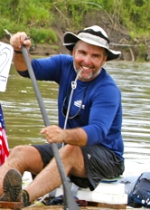Rod Price - Rod Price is rapidly becoming the premier ultra-distance canoe paddler in the United States. At the age of 54, he is the only canoeist to complete North America's five longest races: the Ultimate Florida Challenge 1200, the Yukon 1000, the Yukon River Quest (460 miles), the Missouri River 340 and the Everglades Challenge 300. In 2008, Price was part of a four-person team that competed in the 100-mile Great Amazon River Raft Race in Peru. Since winning his first canoe race in 1980, his victory total has now surpassed 200 wins. Price lives in Central Florida. When he is not traveling to another epic endurance event, he is usually paddling on the local lakes and rivers. Price enjoys conducting paddling trips and showing nature enthusiasts the unspoiled beauty of God's country.