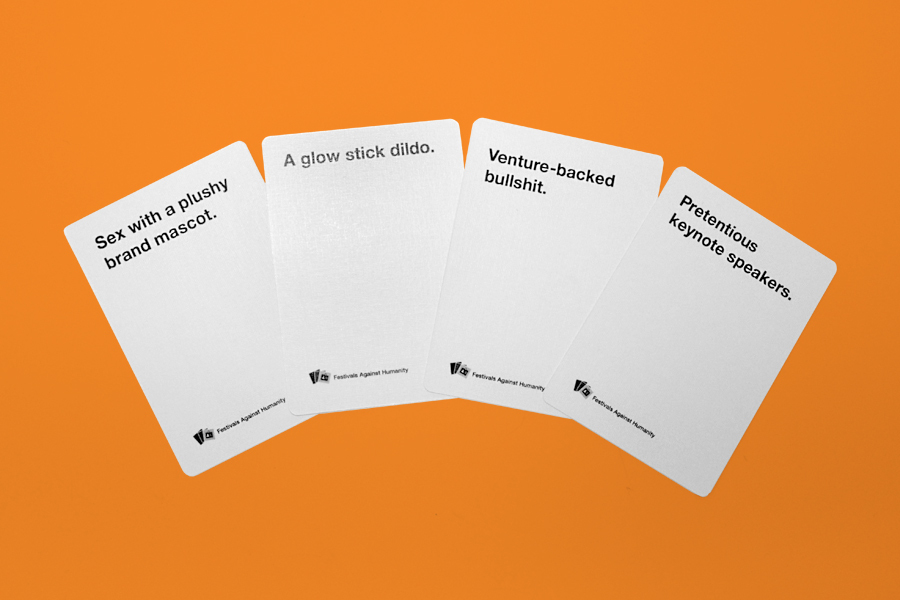 Festivals Against Humanity Expansion Pack