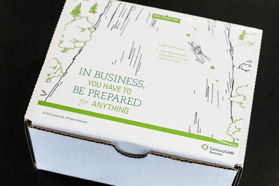 CenturyLink Business Collateral Design