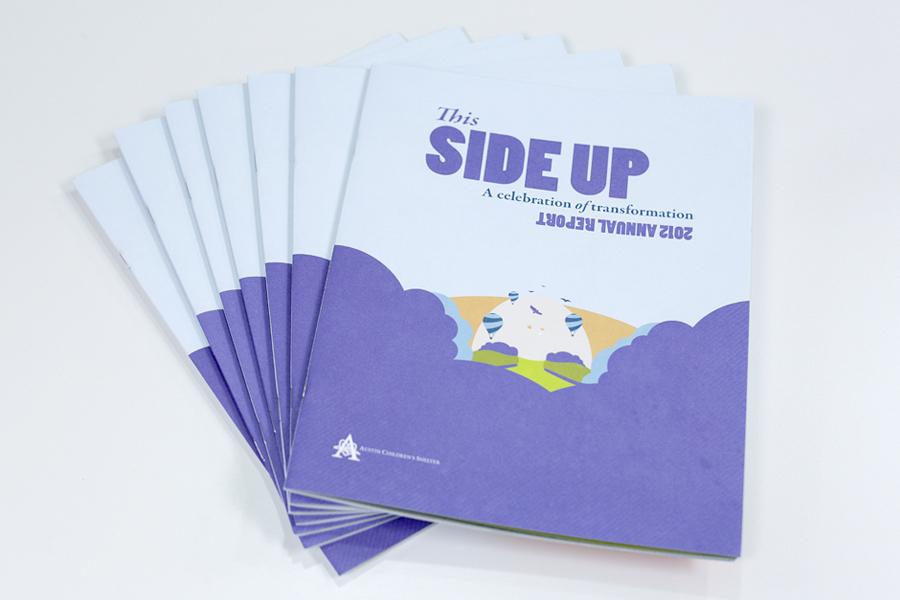Austin Children's Shelter Annual Report 2012