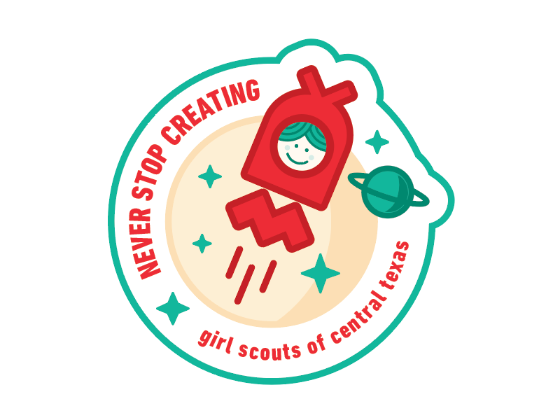 Girl Scouts Patch