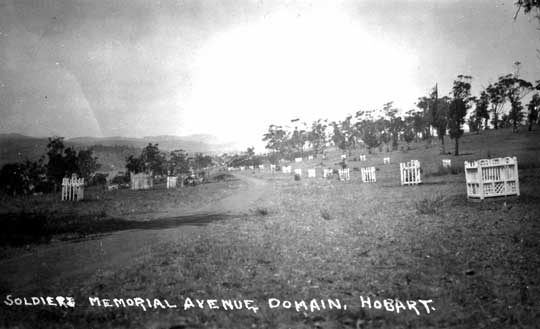 A postcard of the Avenue from the 1920s (courtesy of John Trethewey).