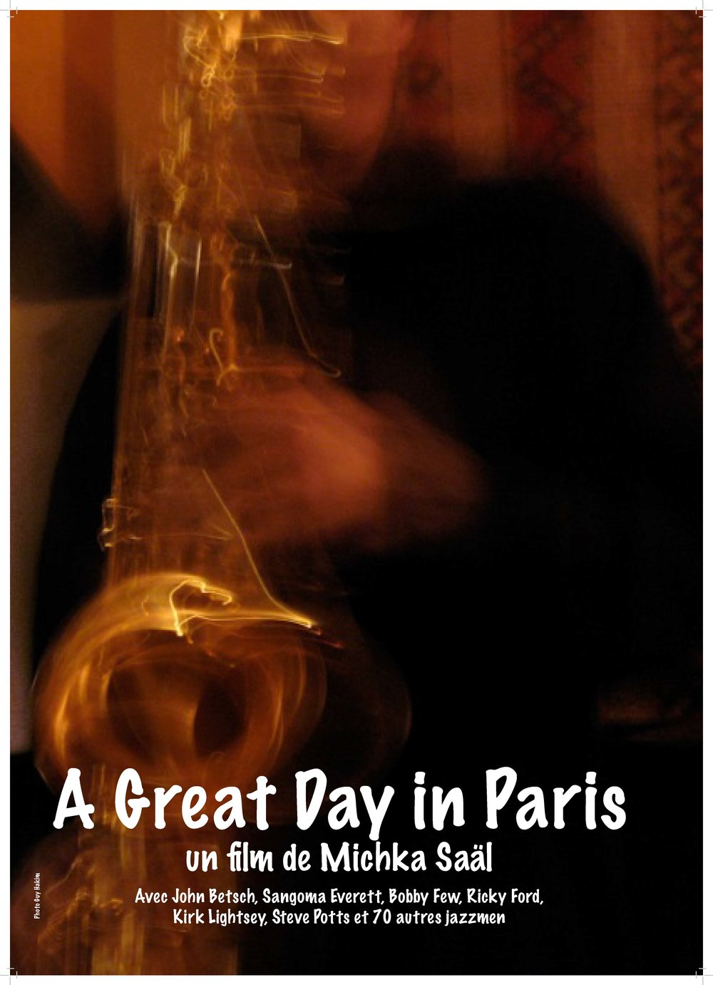 Poster.A Great Day in Paris.2018.jpg