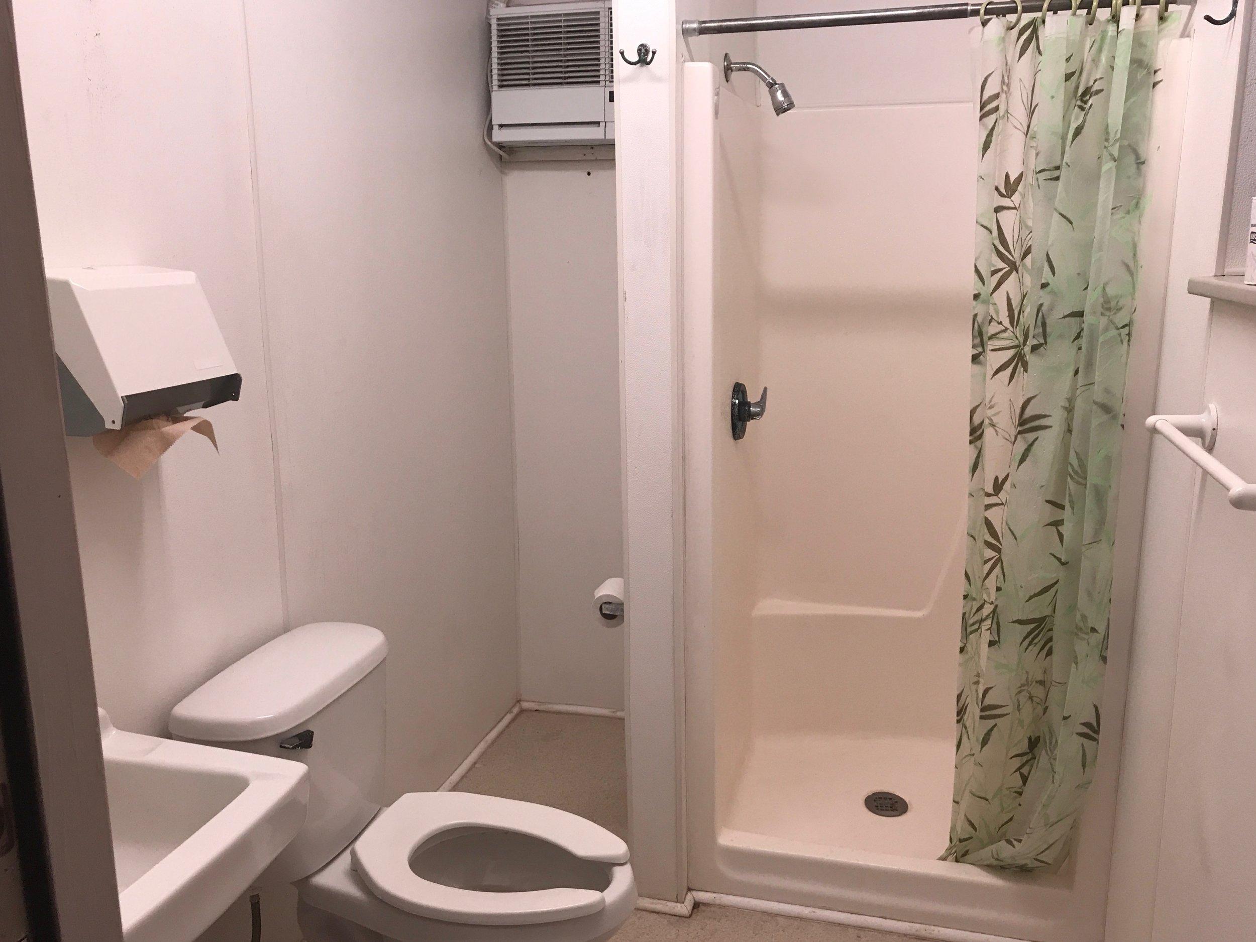 Pretty clean bathrooms.