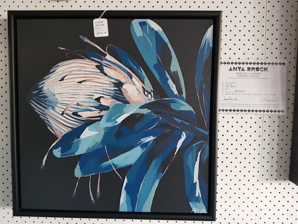 $540  Limited edition Anya Brock print