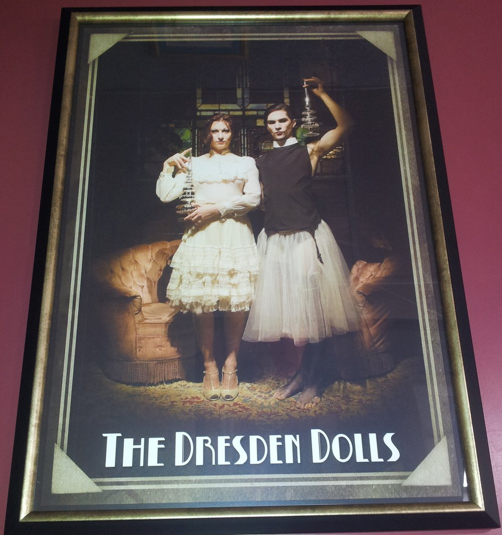 Music Poster of The Dresden Dolls