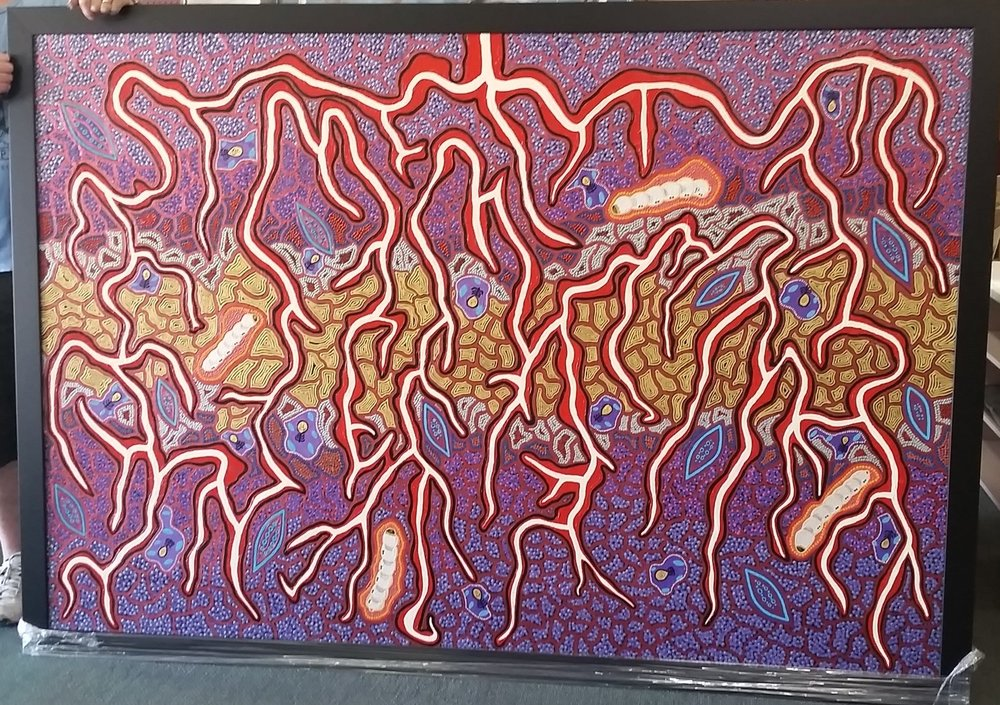 Original Aboriginal Art on Canvas