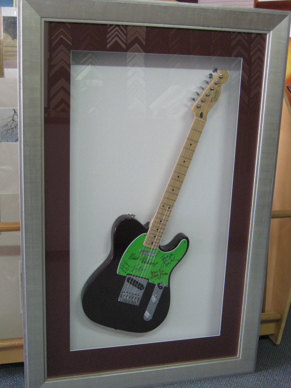 Signed Fleetwood Mac Guitar