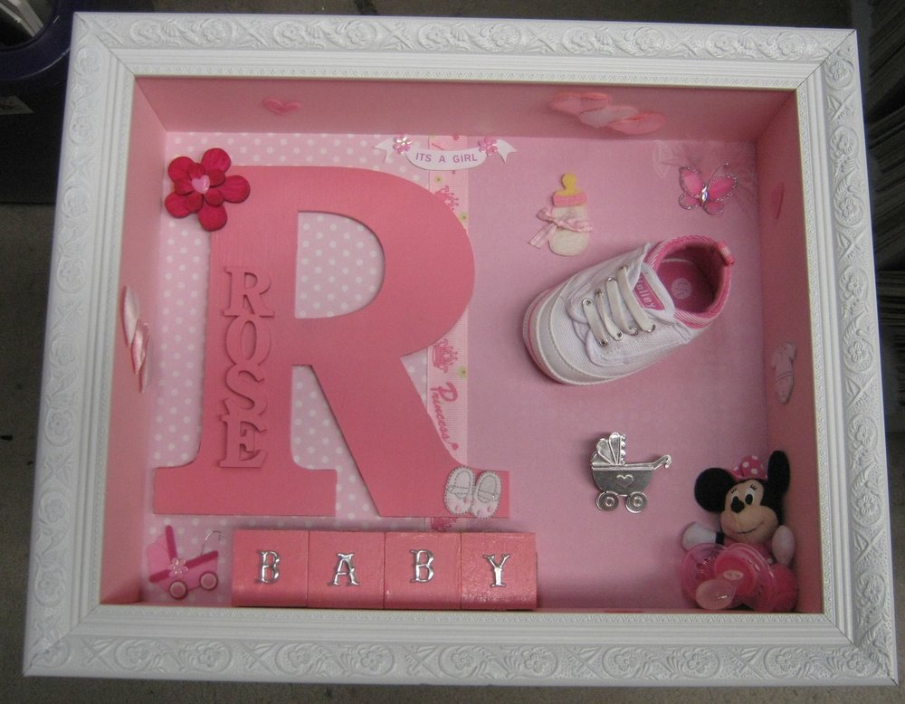 Name with Baby Shoe