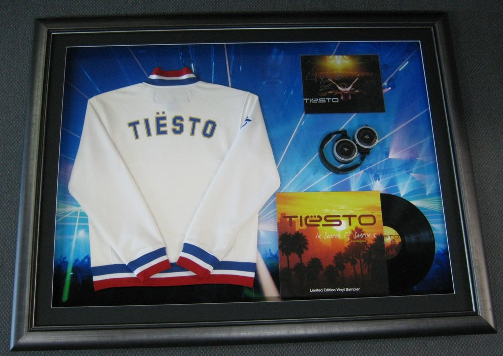 Tiesto Jacket & Record
