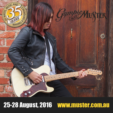 - Gympie Music Muster 2016We are looking forward to heading up to the Gympie Music Muster this weekend to be a part of the Emerging Talent Showcase on Friday at the Muster Club. For more info and to get your tickets, check out muster.com.au