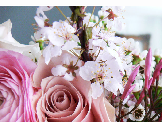Close-up of a Spring Bouquet