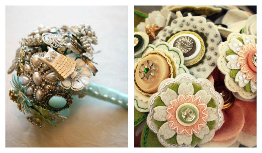 close-up of Bouquet Alternatives