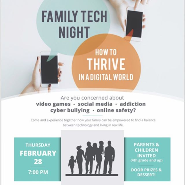 Anyone living in North Utah County grab your kids 4th grade and up and join us for what I hope will be an evening that gives you great information, but more importantly great tools that you can use at home to be more deliberate about how your family uses technology, and a new resolve to find a better balance with technology and living in real life! I am super excited about our line up of presenters for our small group break outs! So come Thursday at 7:00 PM at Mountainville Academy in Alpine. We will be selling LIVE#irl shirts! Hope to see you there! (Link to register in profile ☝🏼) *Big thank you to the Westfield Elementary PTA for helping us win the National PTA grant to do this!