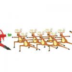 yoga-santa-and-reindeer