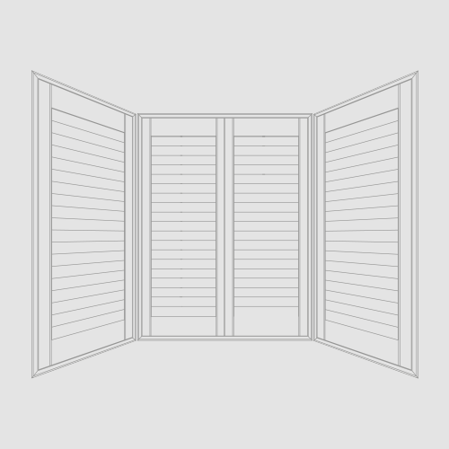 Bay Window Shutters   Available in most materials. Bay windows are notoriously difficult to cover, however, with our experience, no matter the size or complexity of the window, we have the perfect shutters from our range of frames and T posts, offering a great view from inside as well as outside.   More…