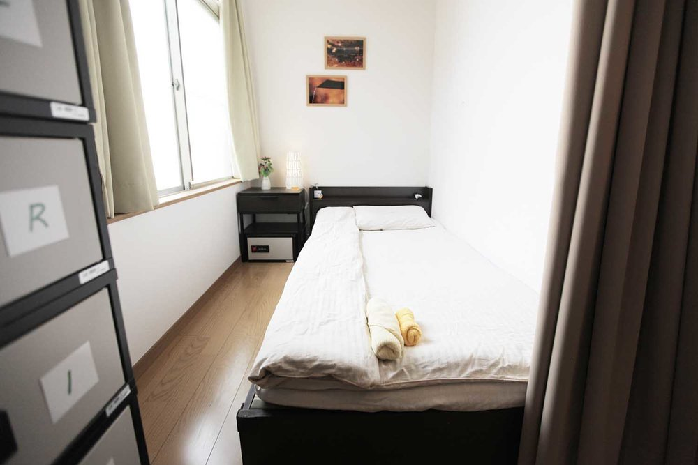 Women-only dormitory - 6 beds for women only. In-room shower, in-room toilet, and extensive range of toiletries (make-up removal oil, make-up sponges, sanitary products, etc).