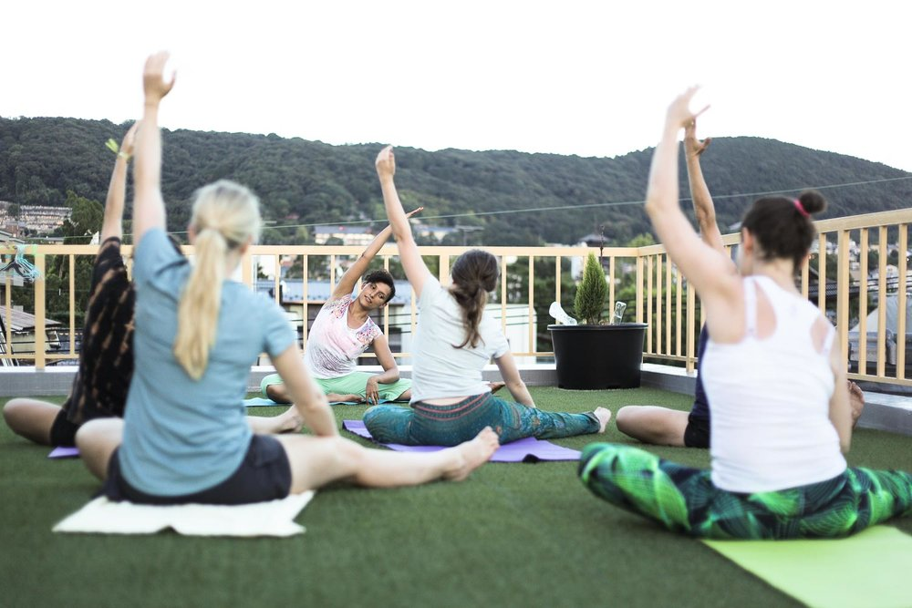 Yoga by Nanay