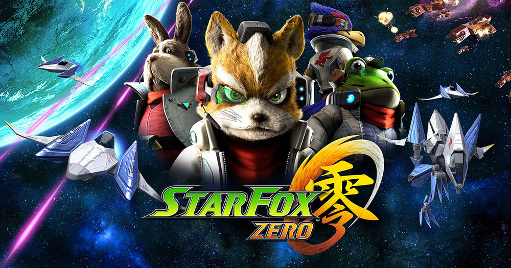 Inari's fox mascot propelled into the 21st century as Star Fox Zero's chief protaganist Fox McCloud.
