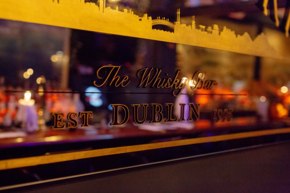 The Whisky Bar Mirror
