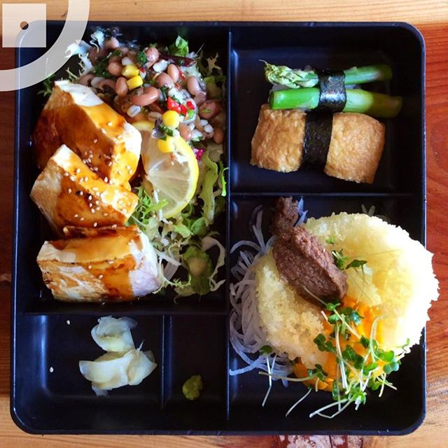 Vegetarian bento box now with a daily vegan option⠀⠀⠀⠀⠀⠀⠀⠀⠀ .⠀⠀⠀⠀⠀⠀⠀⠀⠀ .⠀⠀⠀⠀⠀⠀⠀⠀⠀ .⠀⠀⠀⠀⠀⠀⠀⠀⠀ .⠀⠀⠀⠀⠀⠀⠀⠀⠀ .⠀⠀⠀⠀⠀⠀⠀⠀⠀ #foodlovers #foodporn #delicious #yummy #japanese