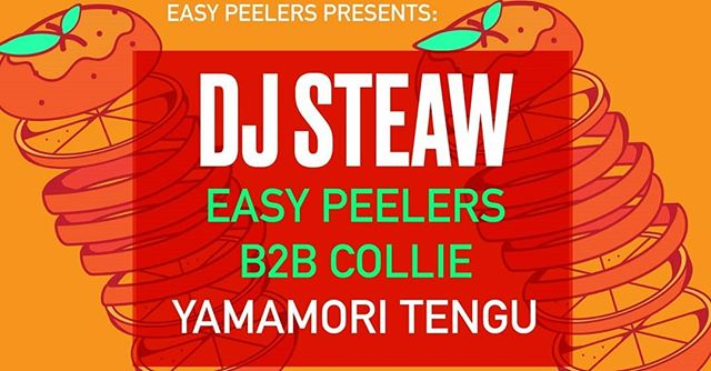 @djsteaw making a Tengu debut downstairs Friday #heat