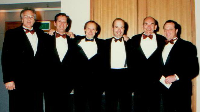 The key people in these first few years and also the first six Presidents of the College were:  Stuart Watson, Peter Brukner, Peter Fricker, Ken Crichton, Vince Higgins, Jeff Steiweg