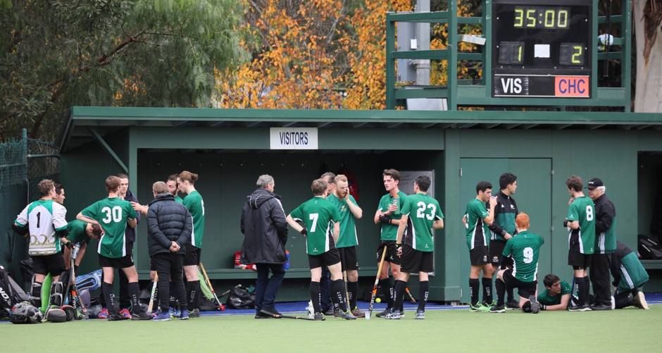 Half time at Camberwell 2018 – we got up for a rare 3-2 win at Matlock