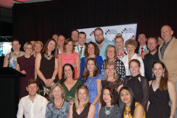 The LASEM crew are always prominent at conferences such as the 2016 SMA Melbourne conference