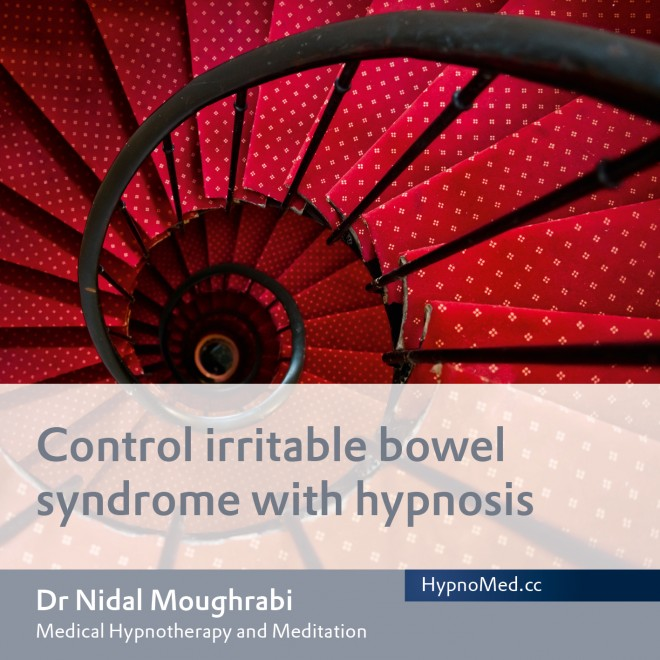 HypnoMed Dr. Nidal Moughrabi Control irritable bowel syndrome with hypnosis (MP3)