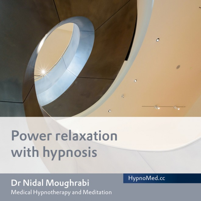 HypnoMed Dr. Nidal Moughrabi Power relaxation with hypnosis (MP3)