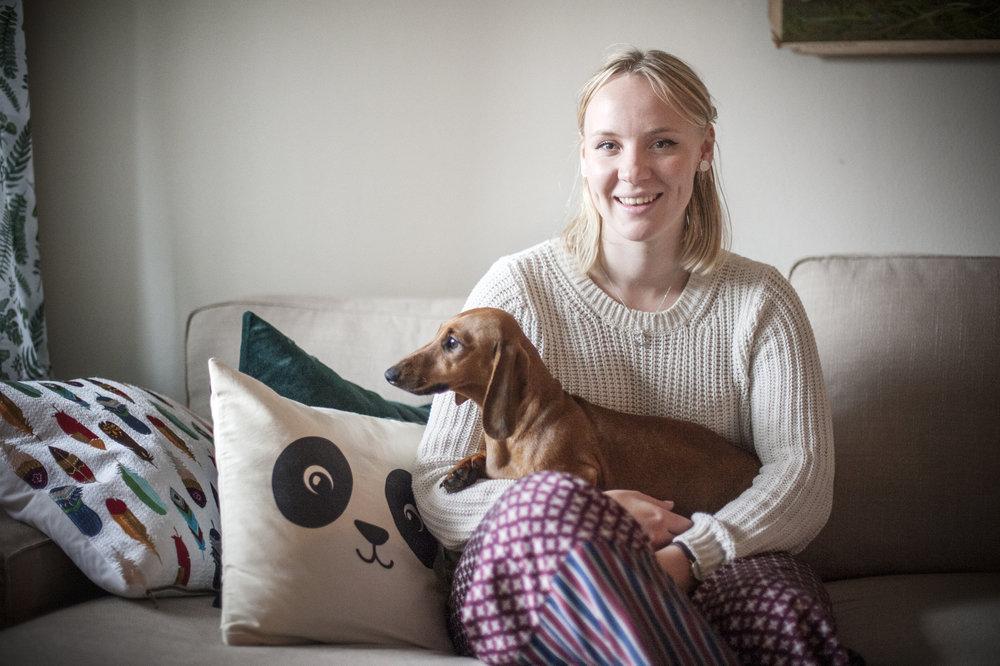 På bild: Mathilda Bertills Foto: Linda Eliasson