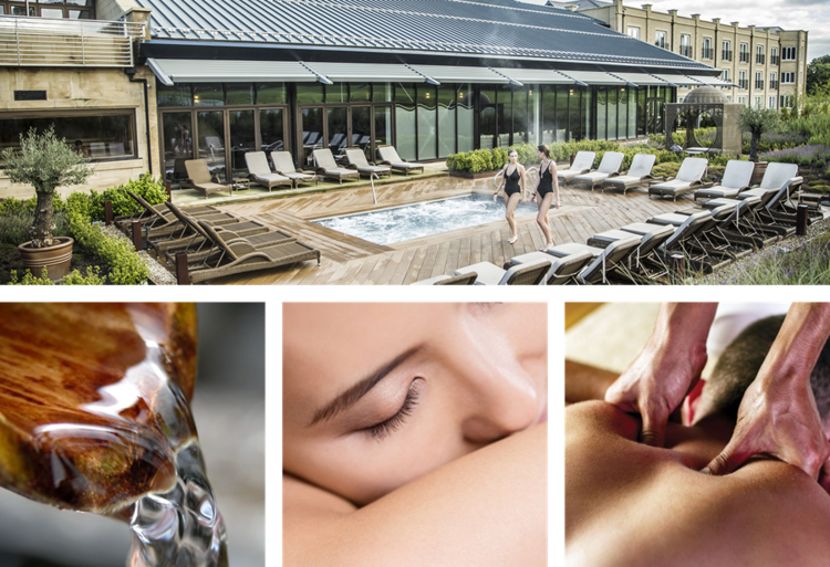 Images courtesy of: Ramside Hall Spa.