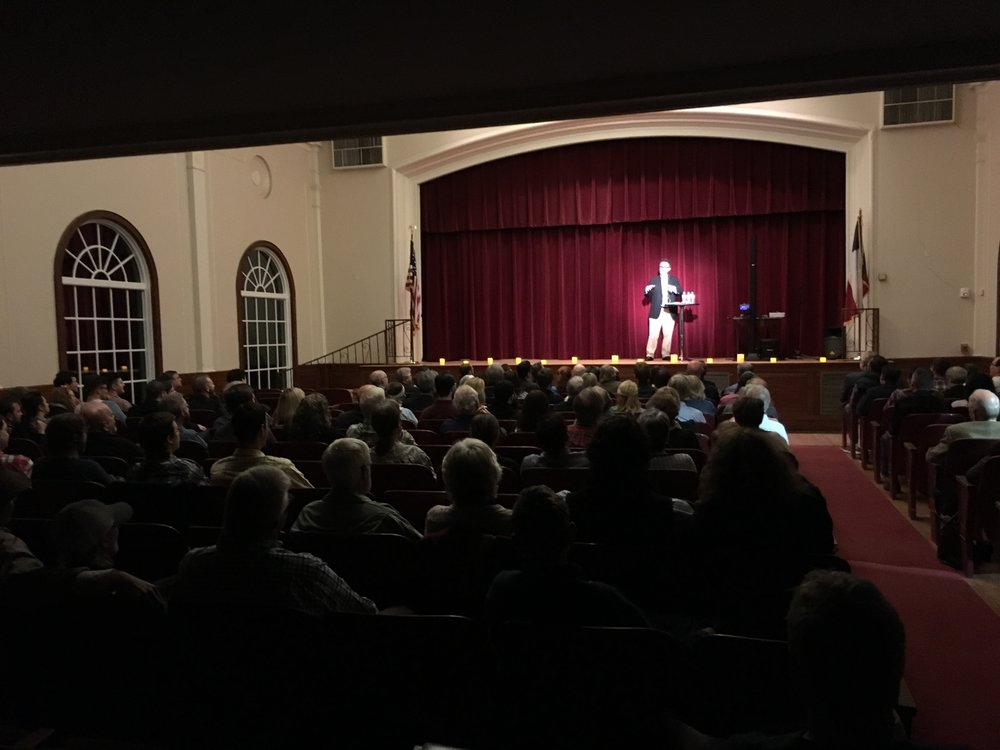 Rod Dreher at The Tyler Women's Building - Oct. 26th, 2018