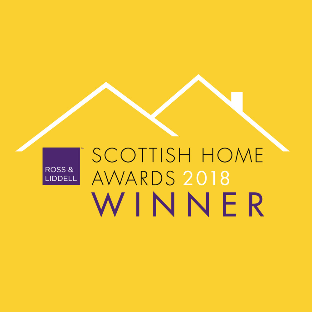 Scottish Home Awards - Blog / June 2018   We were delighted that two of our projects were recognised at the Scottish Home Awards, held at the Edinburgh Corn Exchange earlier this year.