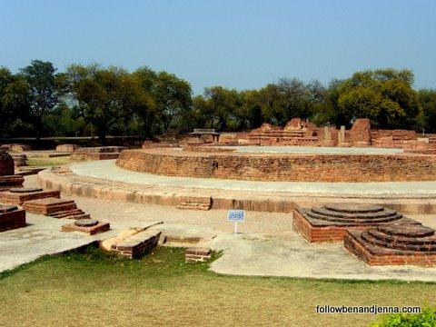 Sarnath, India, where the Buddha first taught
