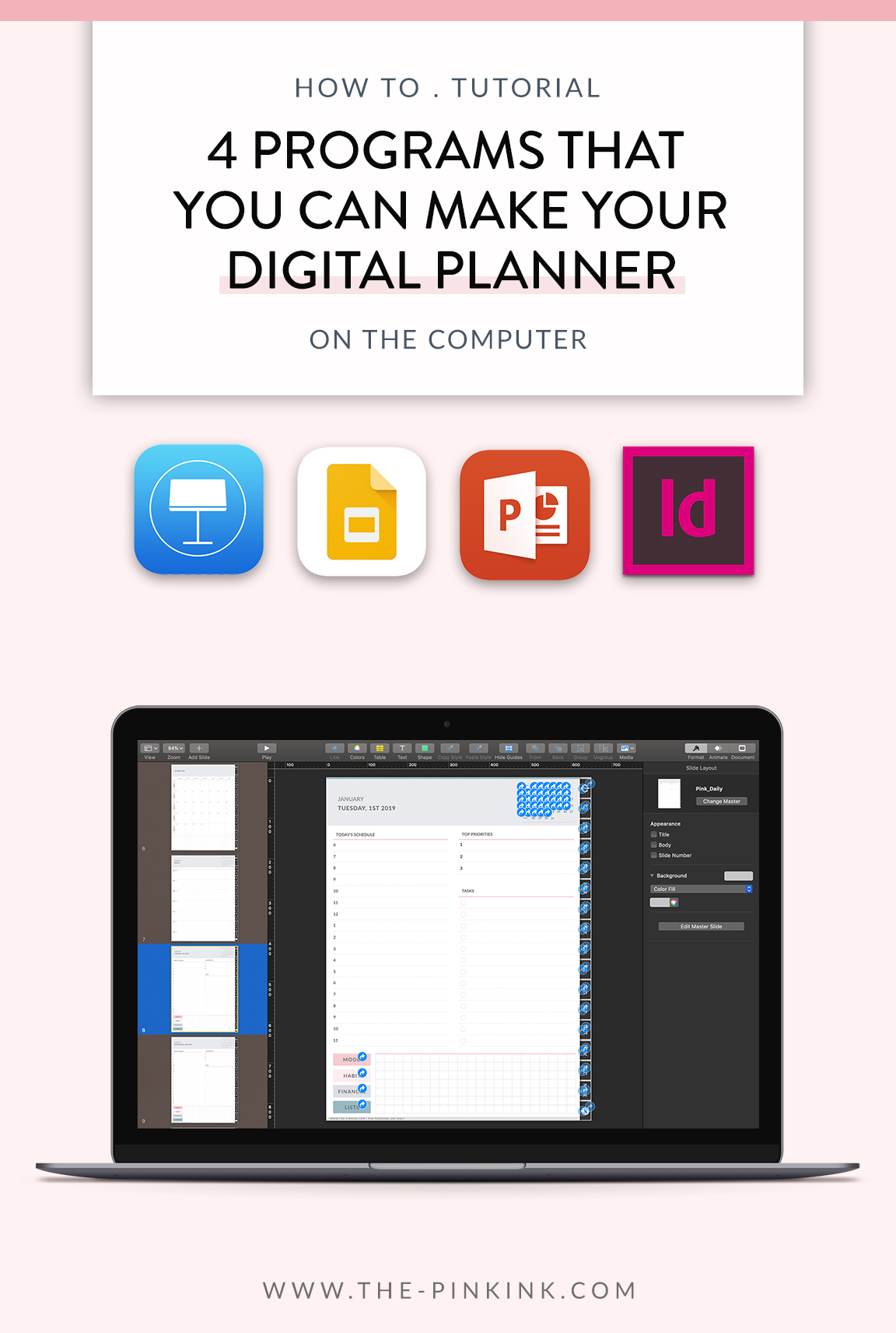 photograph relating to Software to Create Planner Pages identify 4 Strategies That Deliver Electronic Planner A Breeze (+ What