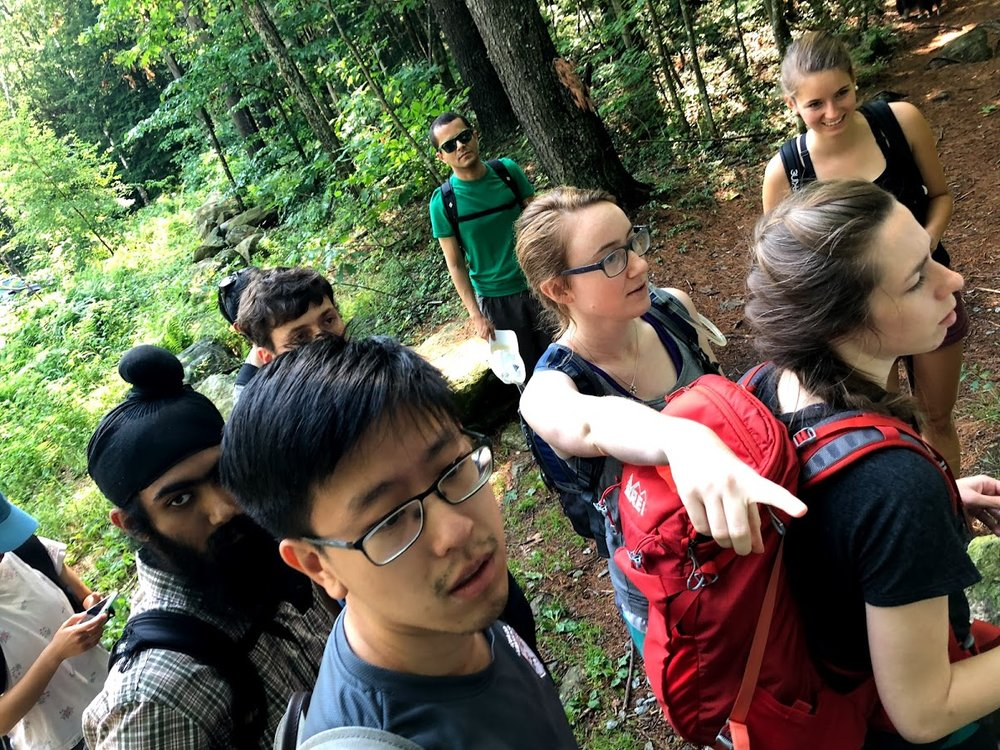 Lab hike (July 2018)