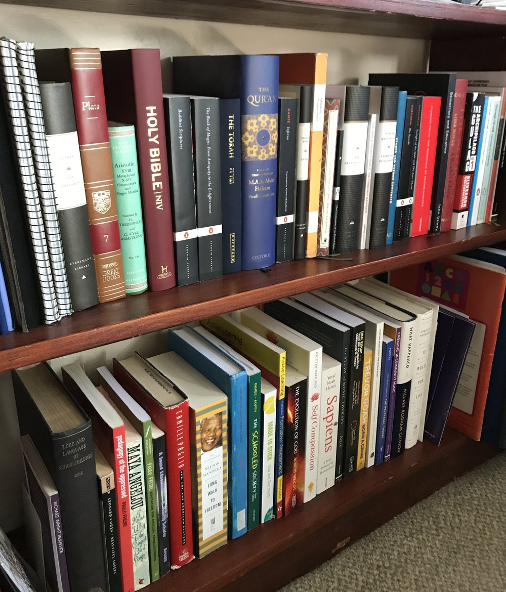 Bibliographies - Check out the compiled bibliographies I've come up with. Here you can find an extensive database of all the literature that supports my research. If you have a suggestion to add, drop me a line and we'll find a spot for it!