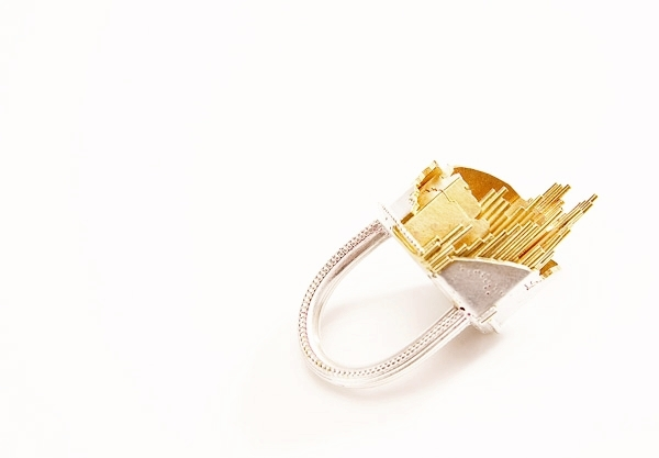2010 Debut collection 'Fragile Landscape' ring