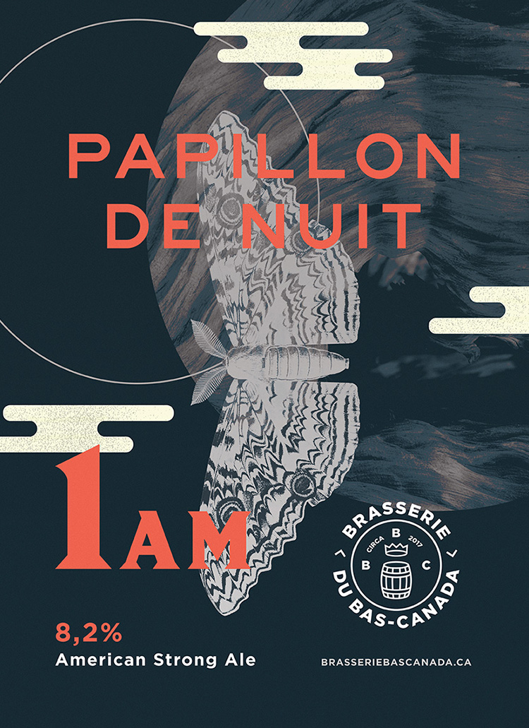 PAPILLON DE NUIT 1 AM - American Strong Ale