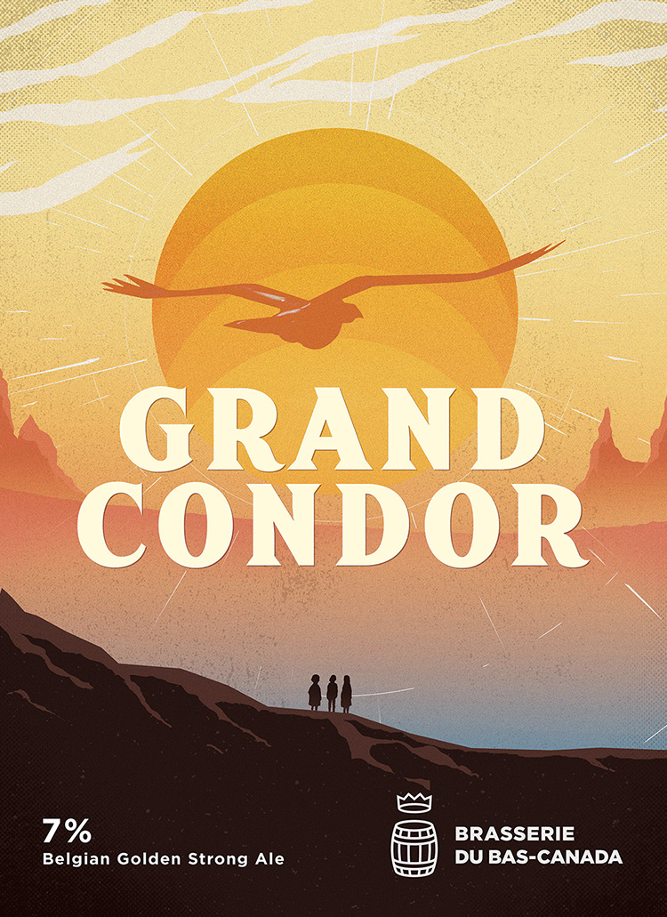 GRAND CONDOR - Belgian Golden Strong Ale