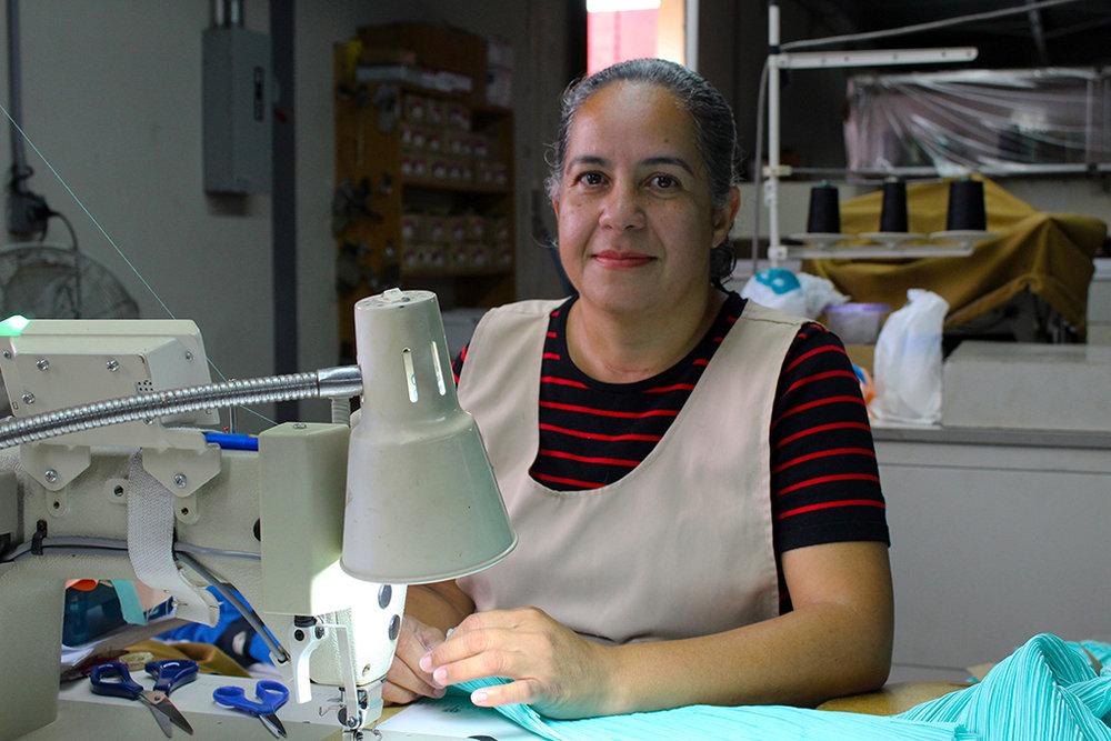 Martha Montalvo, de 47 años, preside la Junta de Directores de la cooperativa desde el 2016. (Víctor Rodríguez-Velázquez / ONCE)