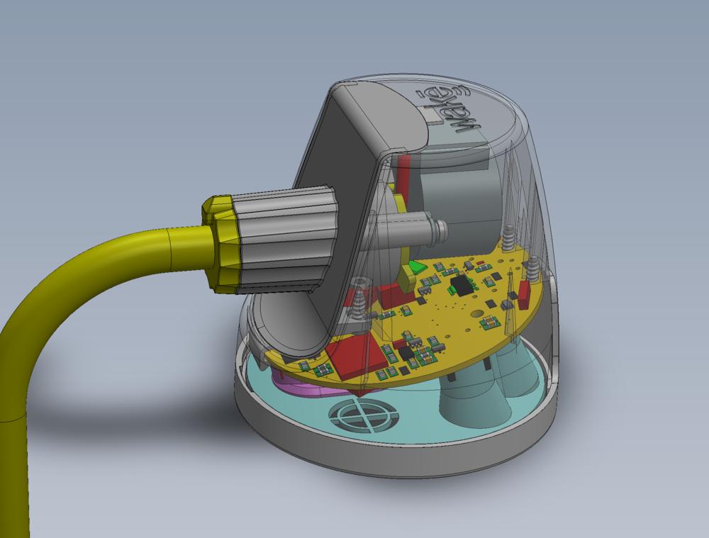 Wakē V2 CAD Render