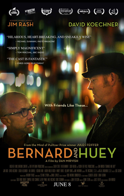Bernard and Huey   Dir. Dan Mervish Writer: Jules Feiffer Starring: Jim Rash, David Koechner